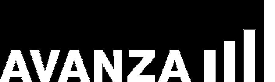 Logo avanza white